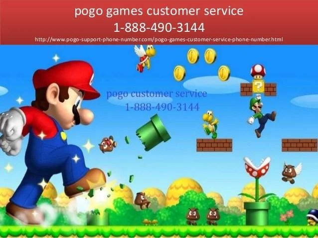 Pogo game customer service 18884903144