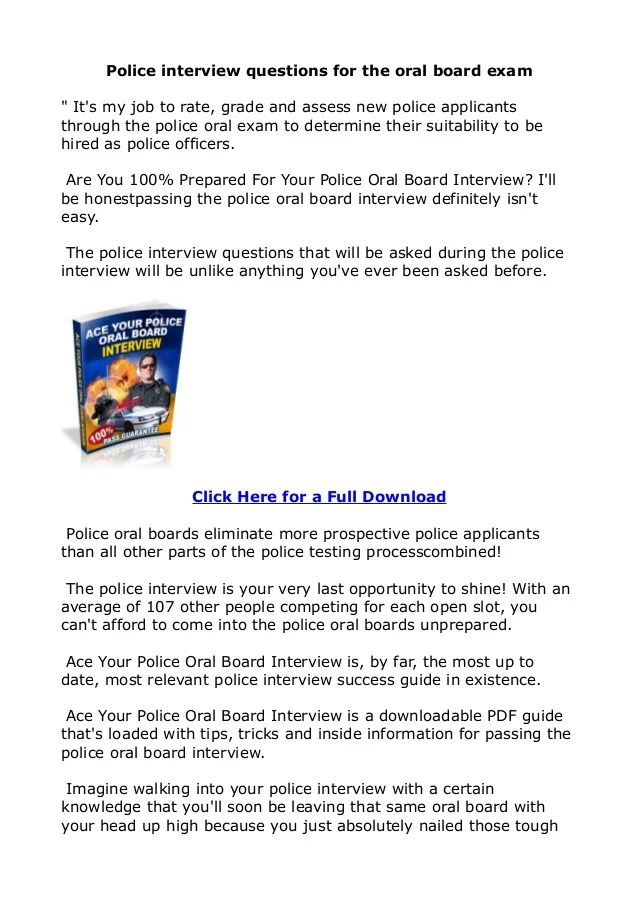 Police Sergeant Resume Cv Samples