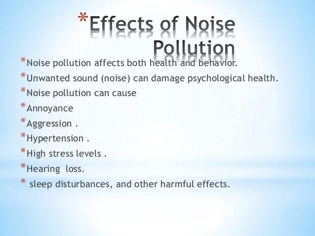 Types Animal Behavior How Does Noise Effect