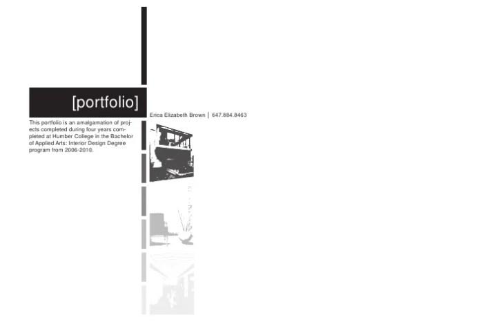 Professional Interior Design Portfolio Pdf