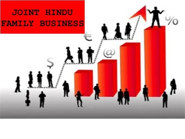 Concept of Joint Hindu Family Business
