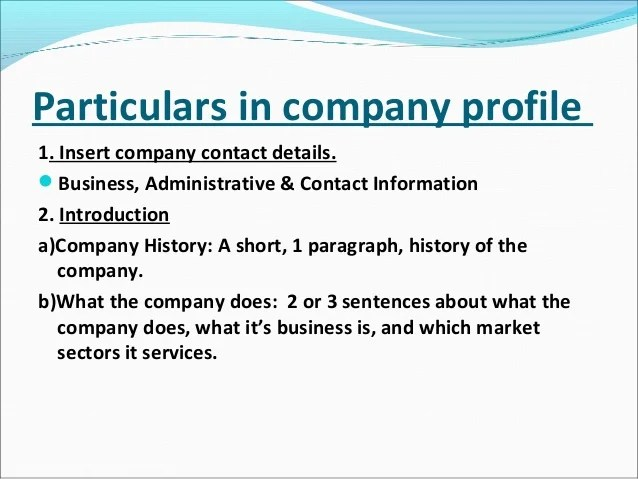 Profile Template Word best photos of facebook template for – Free Company Profile Template Word