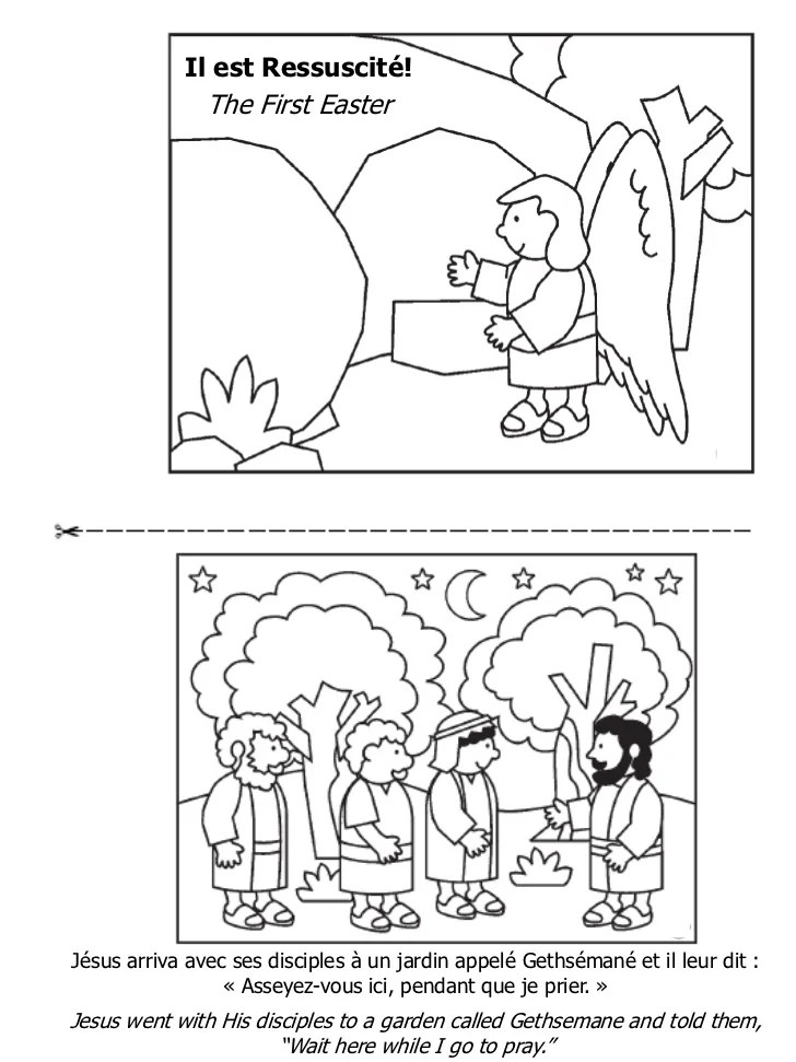 Pques Livre De Coloriage Easter Coloring Book