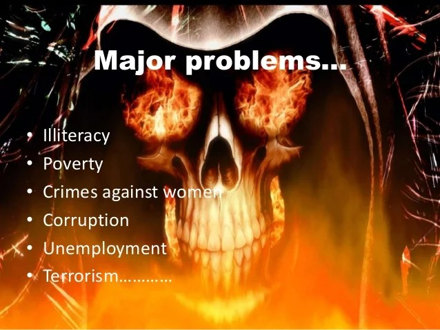 Image result for major problems of India
