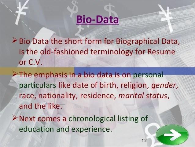 between cv resume and bio resume cv biodata differences eportfolio