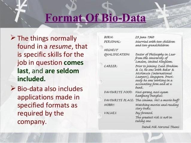 bio data cv - Boat.jeremyeaton.co