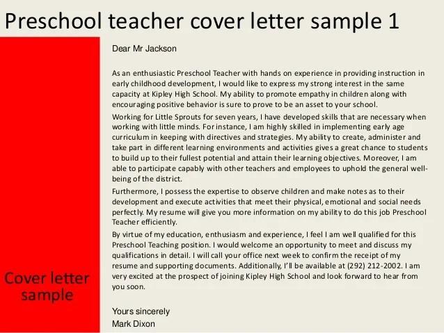 preschool teacher template lead preschool