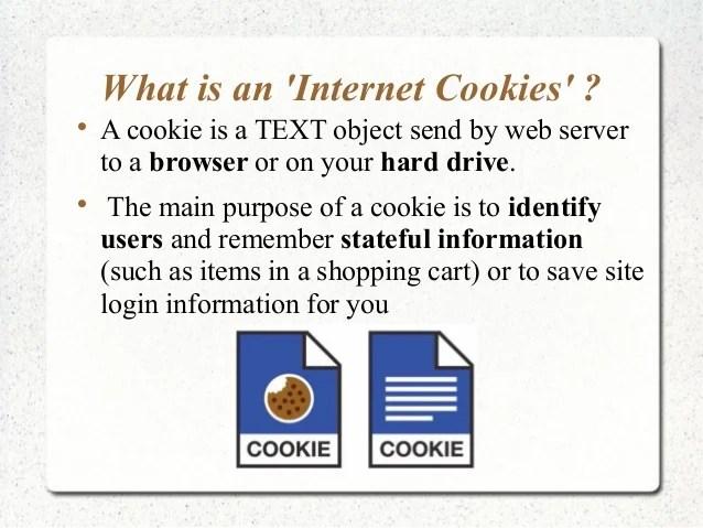 Presentation On Internet Cookies