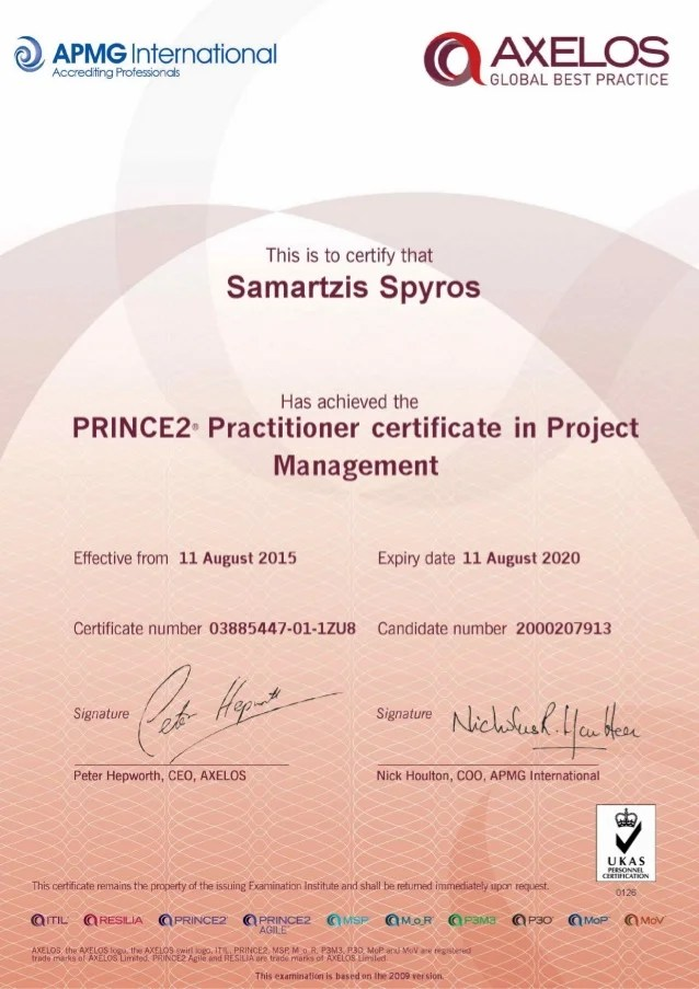 Itil Foundation Certificate 2