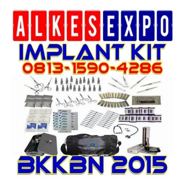 Implant Kit BKKBN 2015 - ALKES EXPO JAKARTA