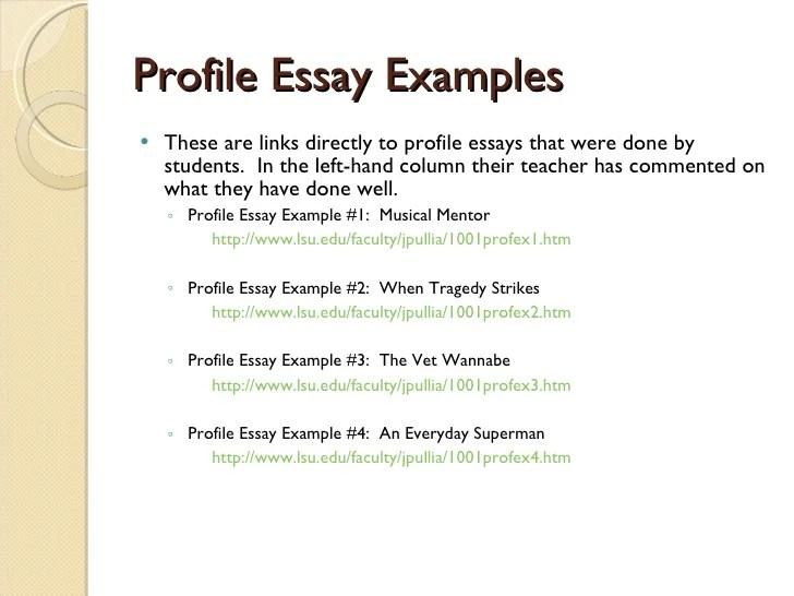 Descriptive Essay Thesis Profile Essay Example Phd Thesis Help In Pune And New Delhi Synopsis And  Proposal Write  Proposal Essay Topic also How To Start A Proposal Essay Profile Essay Example  Romefontanacountryinncom Thesis Essay