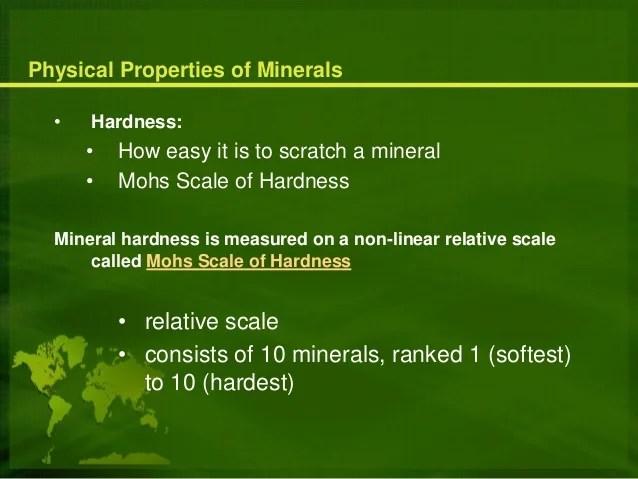Vs Non Metallic Minerals Metallic