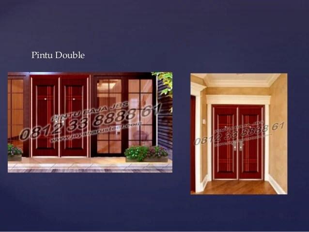 Pintu Rumah Minimalis 2 Pintu Besar Kecil Pintu Rumah Minimalis Kayu