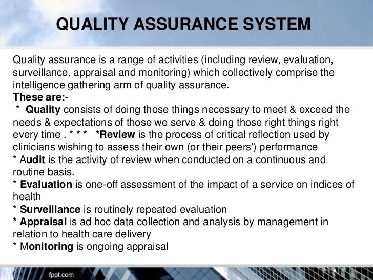 quality assurance executive resume