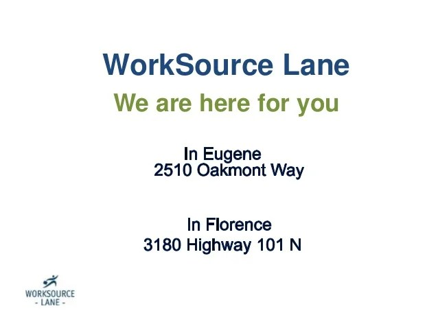 worksource lane rapid response presentation