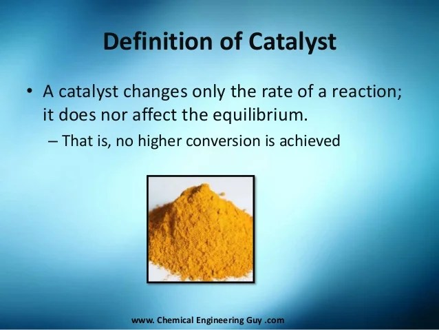 Catalyst Affect Reaction Rate