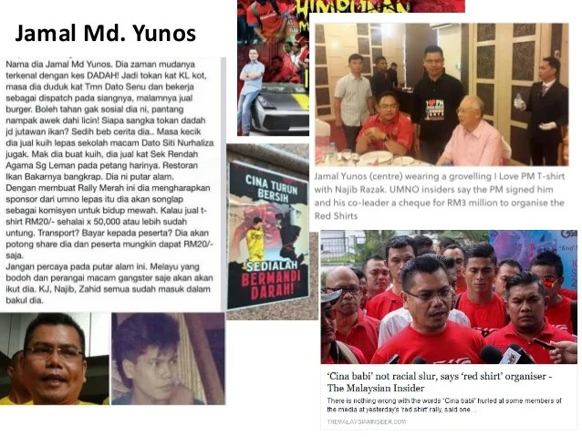 Image result for Red Shirt Violence and UMNO