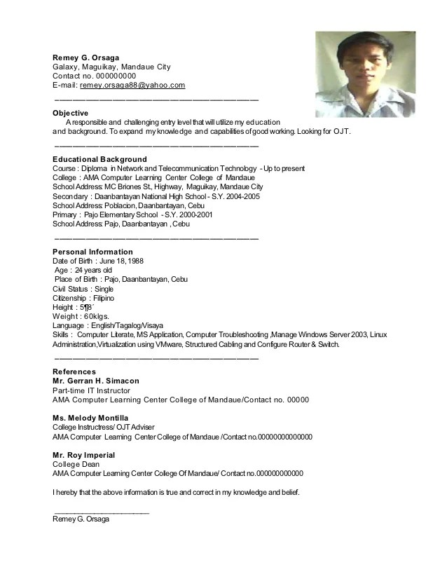 Show Me Resumes Samples. Of A Resume Sample Template Of Resume