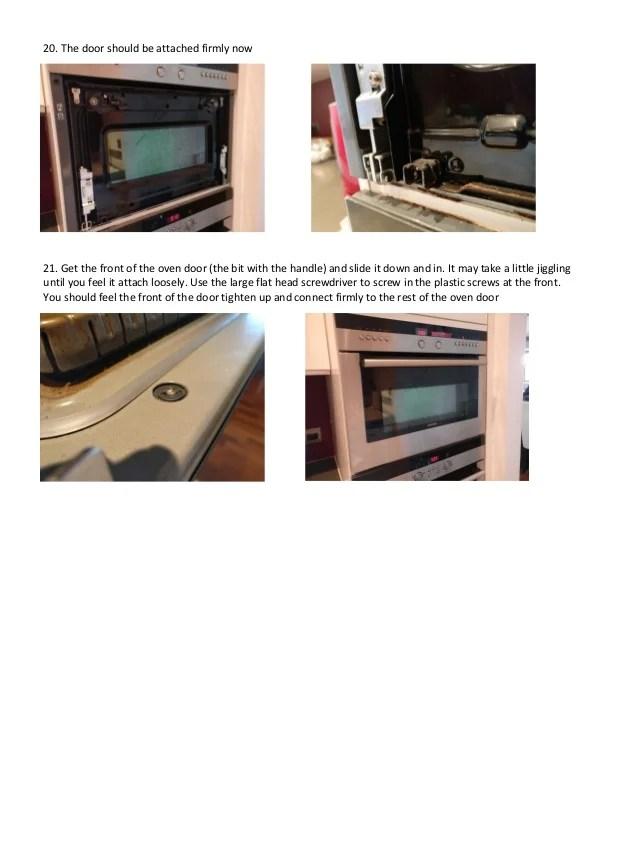 replacing inner glass door siemens