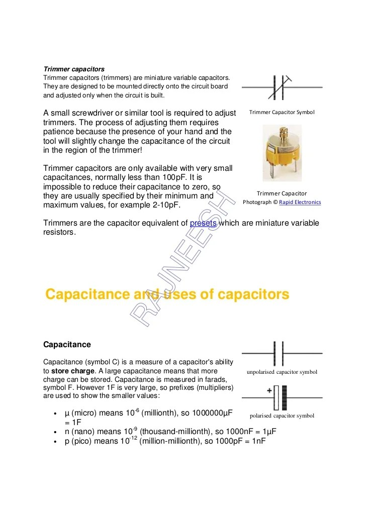 Electronic Capacitor Symbol Images - free symbol and sign meaning