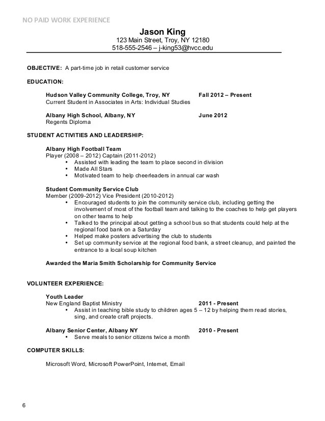 Resume Objective Examples Summer Job 3 81 Mesmerizing Job Resumes