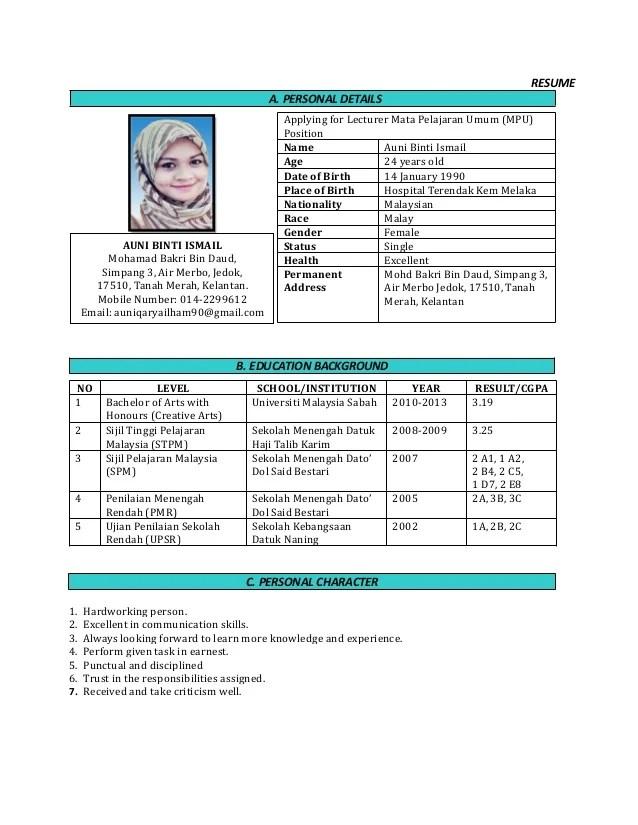 contoh cover letter pdf contoh win