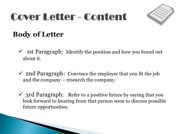 Cover Letter Body Paragraphs.Resume Cover Letter Closing Paragraph Examples 5000 Free