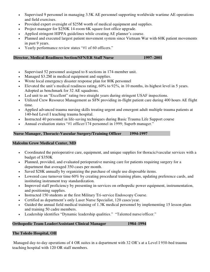 Medical Surgical Resume. Medical Surgical Nurse Resume Sample