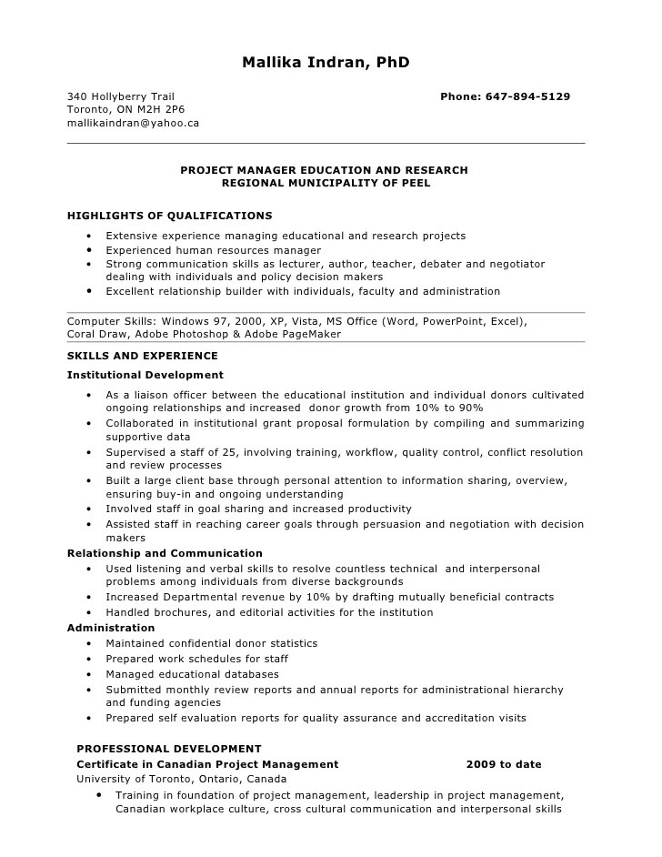 Youth Group Leader Resume Sample. Examples Of Leadership Resume