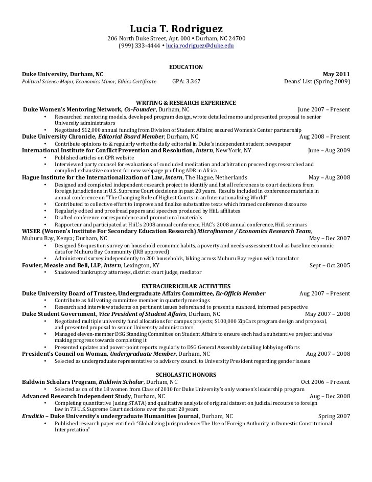 Write Political Science ...  Political Science Resume