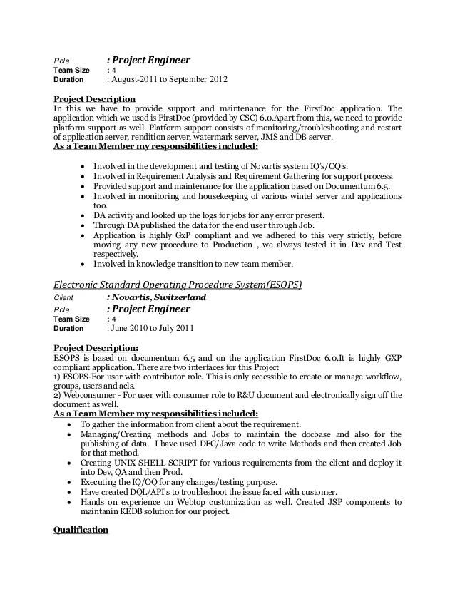desktop support engineer resume sample resume raushan switzerland role
