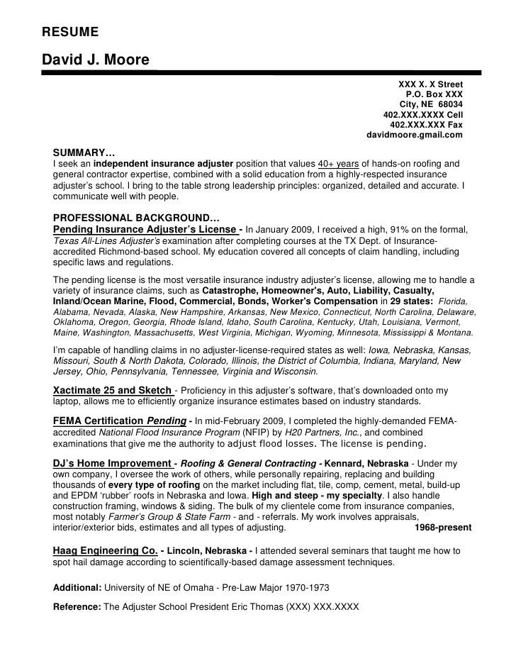 Life Insurance Resume Format. Associate Resume Ex Les In Addition