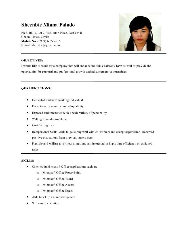 dominique de leon ojt resume 2011 v2 resume design resume sample