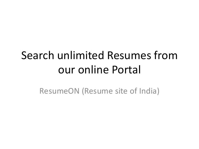 free resume sites for recruiters 3 useful websites for free