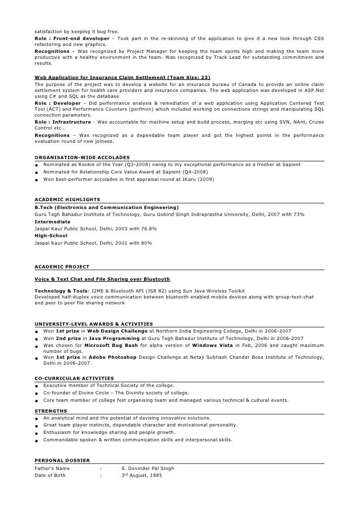 resume taranjeet singh 3 5 years java j2ee gwt