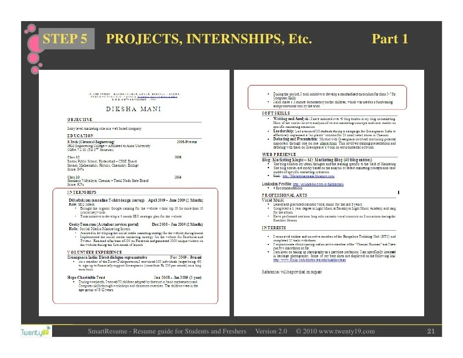 Sample Updated Resumes. Update Your Resume With Mtr Resume Sample