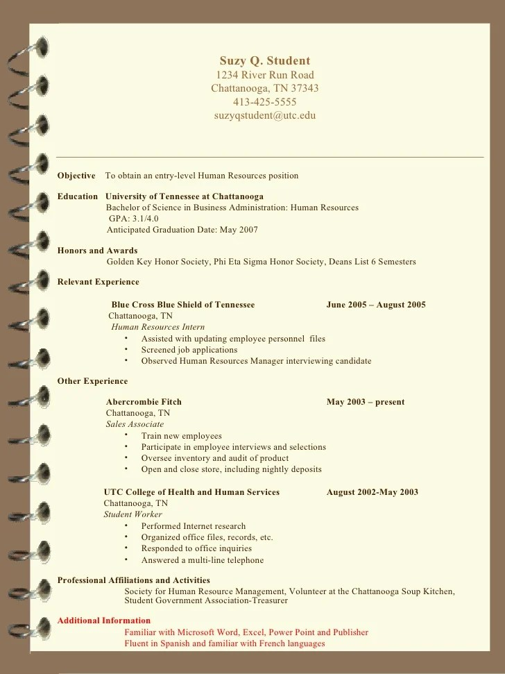 honors and awards resume examples