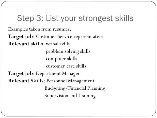 Skills In My Resume. should i use soft skills on my resume ...