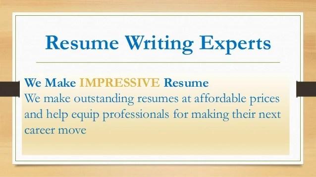 Good resume writers india