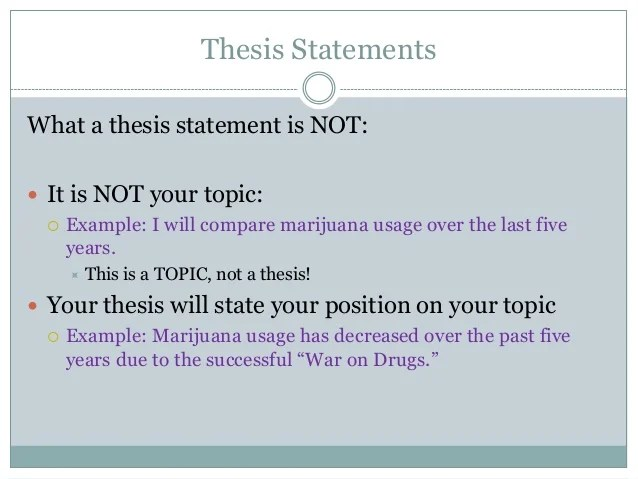 thesis statement examples illegal immigration