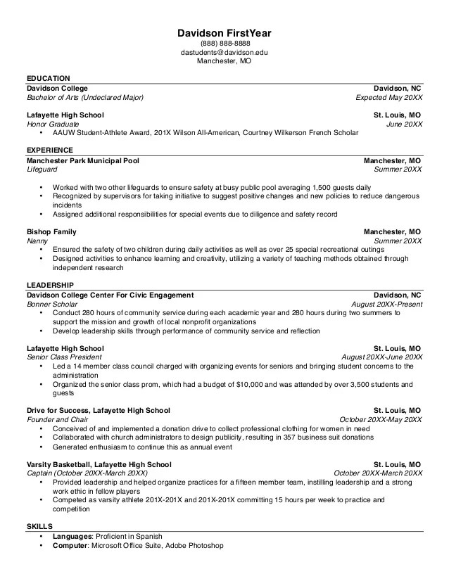 Building A Resume Tips. Tips For Making A Great Resume Template