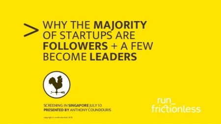 Hasil gambar untuk Why the majority of startups are followers and a few become leaders.