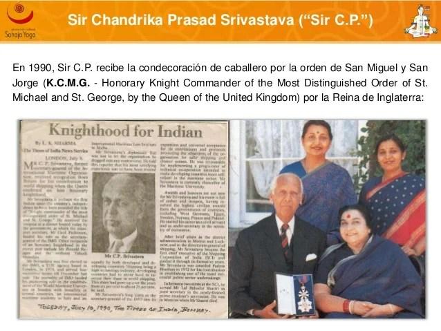 Resultado de imagen para Sir C.P. Srivastava queen elizabeth