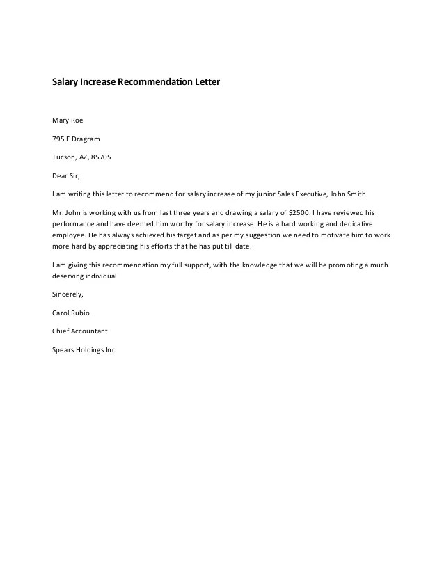 Pay Raise Template raise letter template advance pay account apa – Salary Increase Letter Template