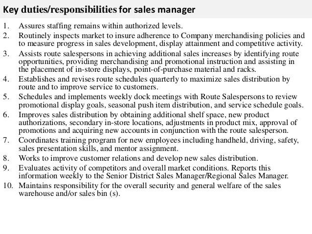 district sales manager job description s manager job description