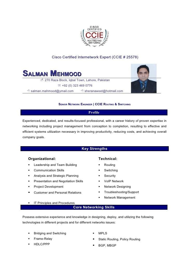 network engineer resume sample cisco 192 168 0 1 ip address