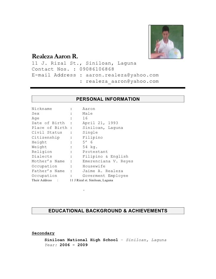 Resume Reference Format | Resume Format And Resume Maker