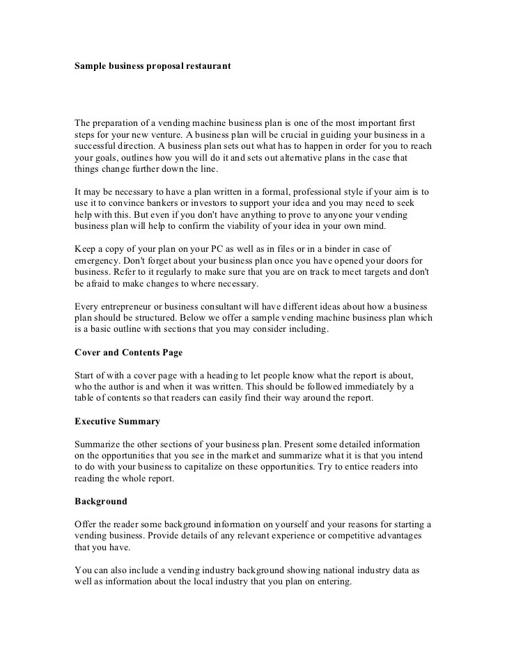 It Business Proposal Template 30 business proposal templates and – Business Proposal Sample Template