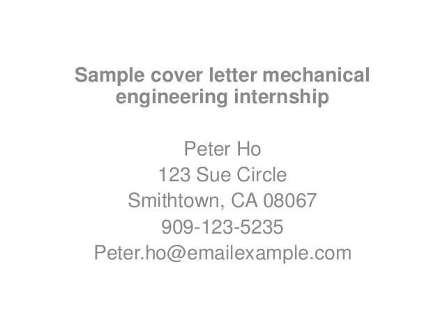 cover letter samplepeter ho123 sue circlesmithtown ca 08067909 123