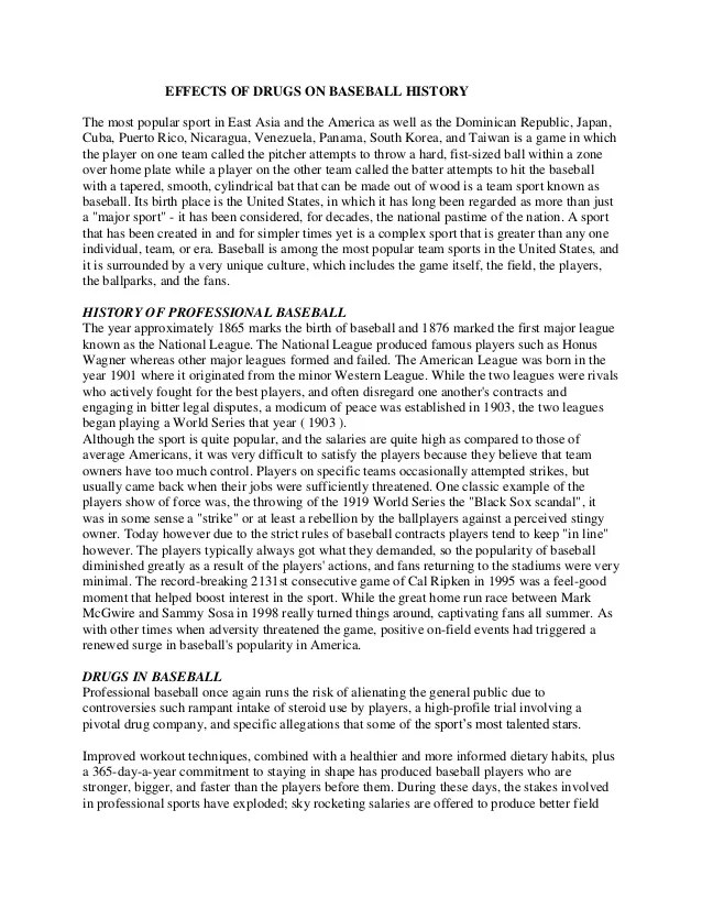 history of baseball informative speech Speech outline for the history of baseballpdf free download here history of baseball speech outline .